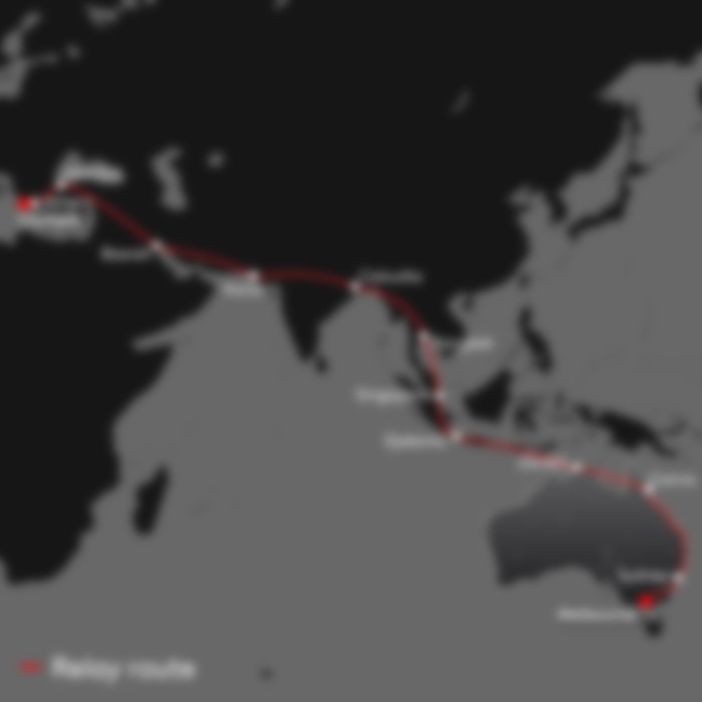 Melbourne-1956-map