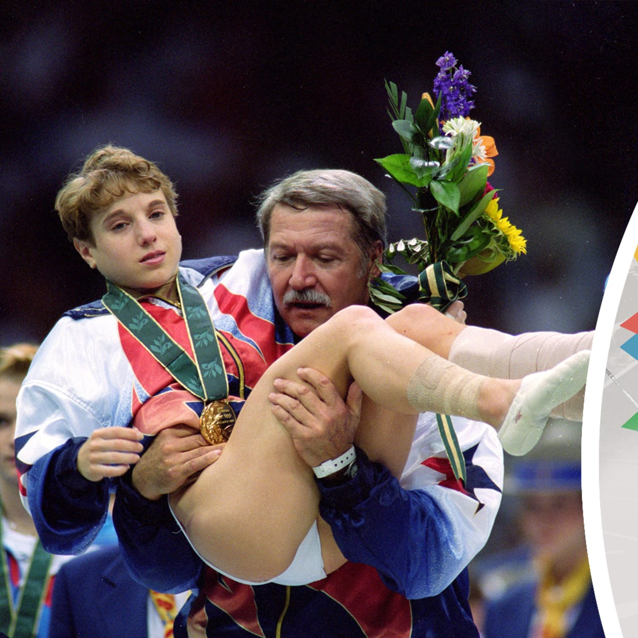 Kerri Strug shrugs off injury to clinch gold for USA: Iconic images in women sport- SportzPoint