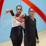 Sports Swap: Football vs Gymnastique, Heather O'Reilly  et Margarita Mamun