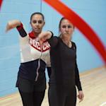 Sports Swap: Football vs Gymnastique, Heather O'Reilly  et Margarita Mamun
