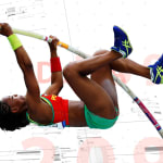 See how the evolution of carbon fiber poles changed the pole vault world