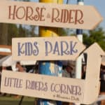 Pony rides at the Polo Club