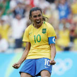 Marta: every Olympic goal