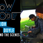 Behind the Scenes: Eilidh Doyle hurdles through the woods