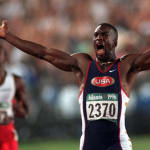 Golden Johnson's 200M Sprint Victory in Atlanta 1996