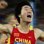 Liu Xiang aos 20 anos