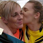 Wie Sara Kolaks Familie half, Gold im Speerwurf zu ersiegen - der Weltschock