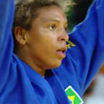 Rafaela Silva aos 21 anos