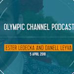Ester Ledecka + Danell Leyva