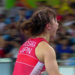 Tosaka wins Women's Freestyle Wrestling gold