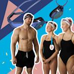 Os campeões canadenses de nado sincronizado desafiam Buff Dudes