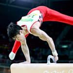 体操競技:「空を飛んでいるような感覚」