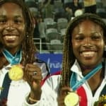 Las hermanas Williams a los 11 y 12