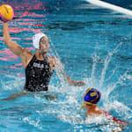 女子 - RSA vs USA | 水球 - FINA世界選手権 - 光州