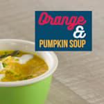 حساء البرتقال واليقطين