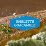 Omelette al guacamole