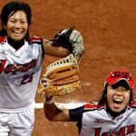 ソフトボール日本代表、北京2008で王者アメリカを下す