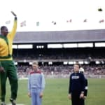 ダ・シウバがメルボルン1956で陸上競技金メダルを獲得