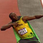 Usain Bolt aos 17 anos