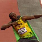 Usain Bolt a los 17