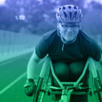 휠체어 레이서이자 스키어 위버그, 패럴림픽 2관왕 노린다