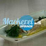 Sgombro con spinaci