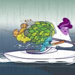 فينيسيوس وتوم - يوم ممطر