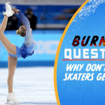 Why don't figure skaters get dizzy?