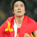 Hurdler Liu's Historic Gold Display in Athens 2004