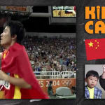 Kids call Liu Xiang's historic 110m hurdles gold medal race