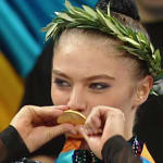 Alina Kabaeva a los 17
