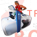 This anti-gravity treadmill is an injury recovery tool