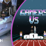 Gamers As2Pik and Nemsworld experience the adrenaline rush of bobsleigh