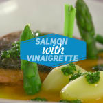 Salmone in vinaigrette