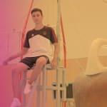 Cómo Daniel Schwed, de 16 años, quiere continuar con el éxito germano