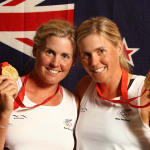 双子のオリンピック選手の名場面