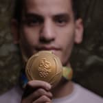 How Jordan's Olympic medal turned Ahmad Abughaush into an icon