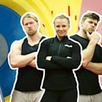 Os Buff Dudes sobreviverão a um treinamento de luta olímpica?