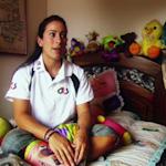 Mariana Pajón a los 17