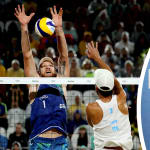 Finale beach volley maschile, Rio 2016