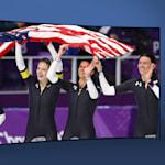 Equipo patinaje de velocidad (F) de USA | PyeongChang 2018 | Take the Mic