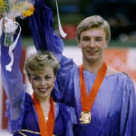 1984年萨拉热窝冬奥会托维尔和迪恩冰上舞蹈夺金