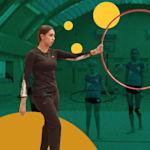 俄罗斯奥运冠军玛格丽塔·马蒙传授体操秘诀