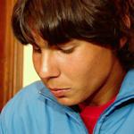 16岁的拉斐尔·纳达尔