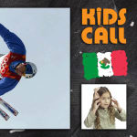 Kids call a daring triple back flip with five twists in Olympic aerials
