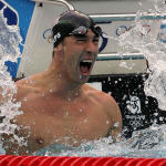 Michael Phelps' Record Eight Gold Medals in Beijing