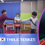 Gamers DDotty & Suhyen reveal their table tennis skills in ultimate battle