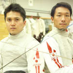 Sports Swap: Karate vs Fencing  with Hiroto Gomyo & Kenta Chida