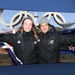 Nico Porteous und Zoi Sadowski Synnott | PyeongChang 2018 | Take the Mic