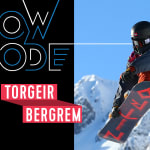 What happens when snowboarder Torgeir Bergrem rides an empty mountain?